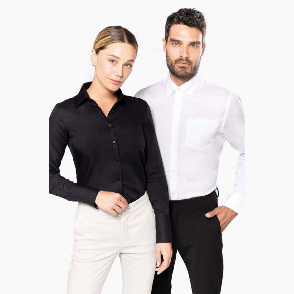 Chemises hotel restaurant homme femme