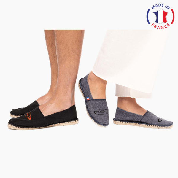 Espadrille personnalisation made in france