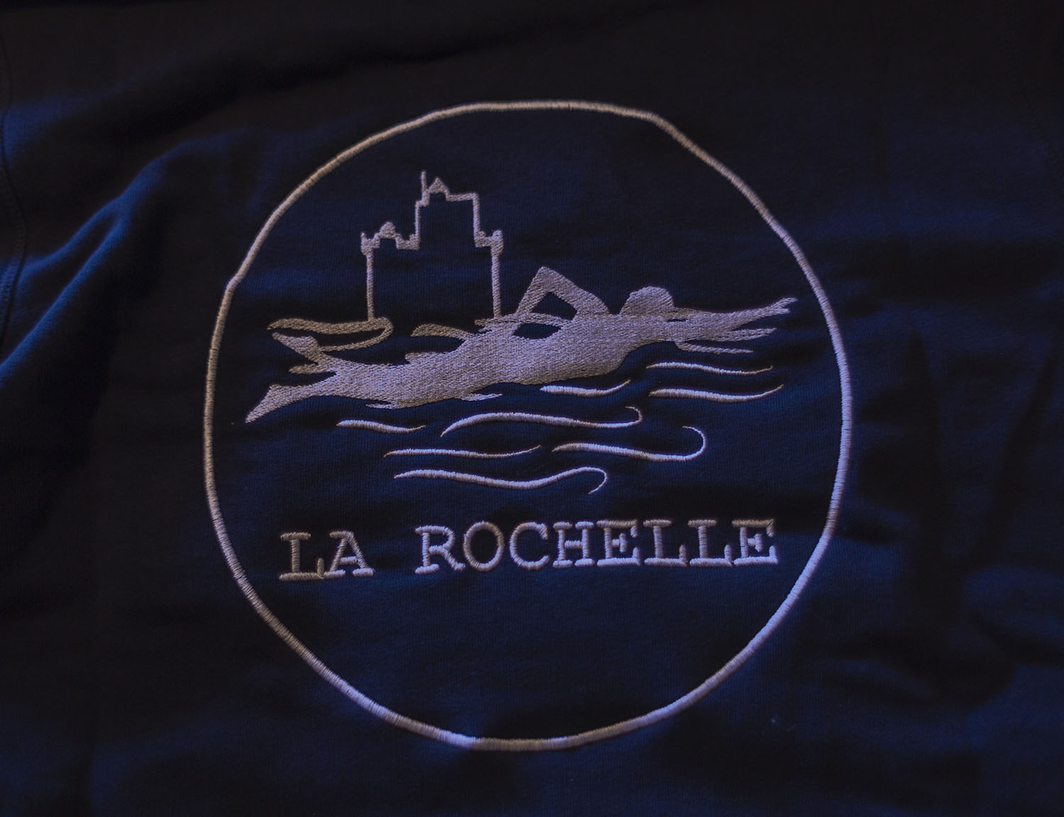 Logo personnalise broderie