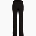 Pantalon broderies femme dos noir
