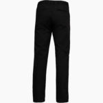 Pantalon homme dos noir