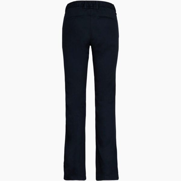 Pantalon femme dos bleu