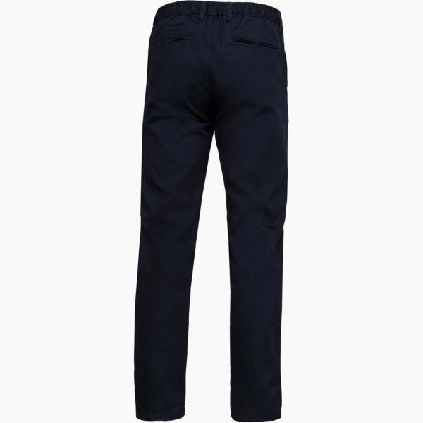 Pantalons hommes dos bleu