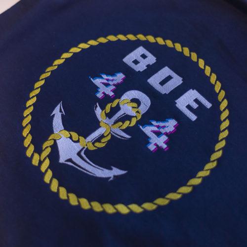 Personnalisation logo broderie association etudiants larochelle