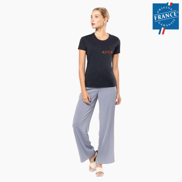 T-shirt personnalise femme origine france garantie