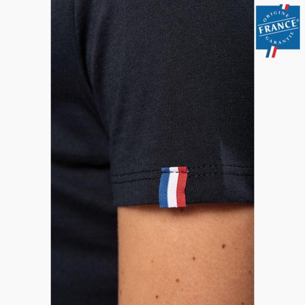 T-shirt personnalise origine france garantie cote femme