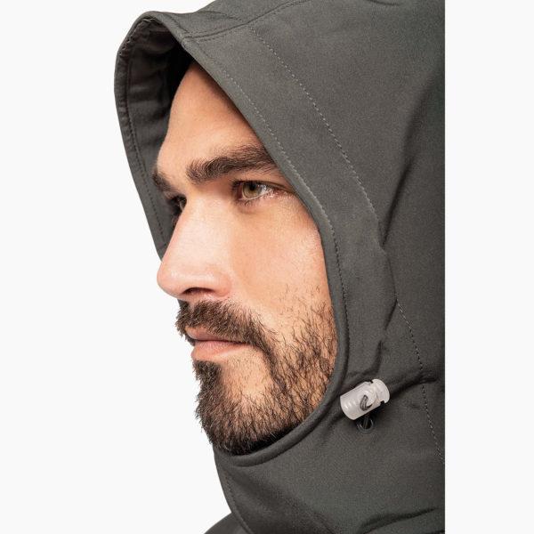 Veste capuche homme