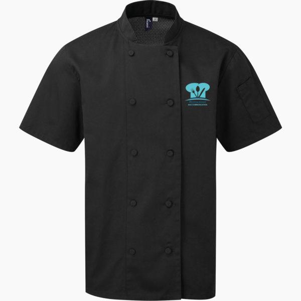 Veste cuisinier noir