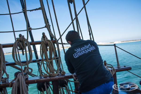 Broderie vêtements nautique équipage