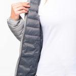 Doudoune légère à capuche femme | Broderie - Marquage textile