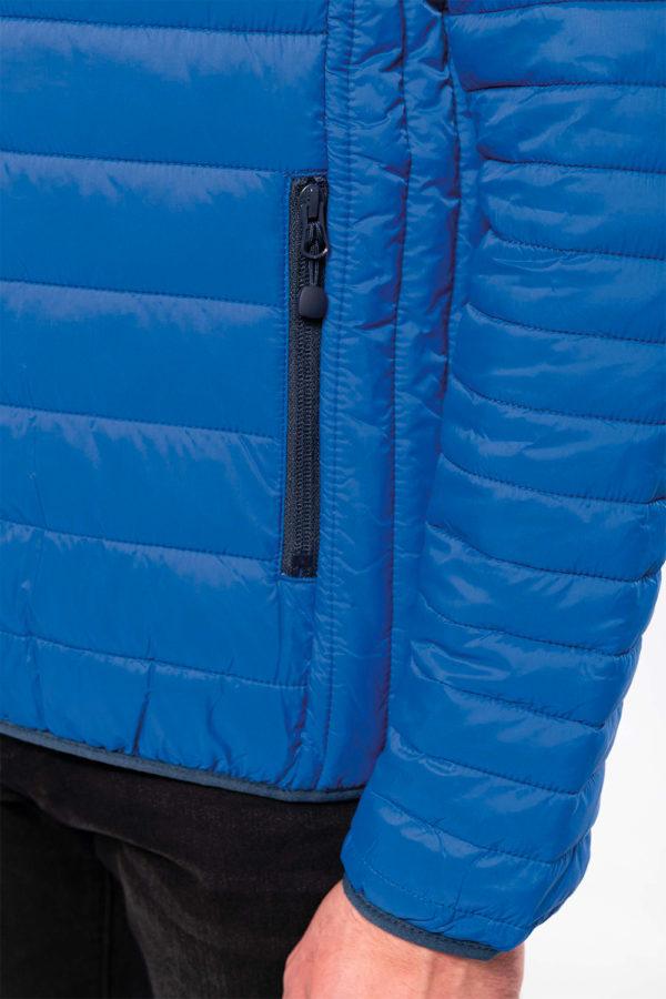 Doudoune légère à capuche homme | Broderie - Mxarquage textile