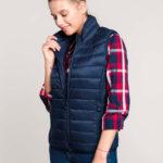 Doudoune légère sans manches femme | Broderie - Marquage textile