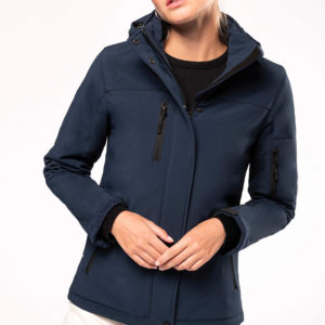 Parka softshell doublée Femme | Broderie - Marquage textile