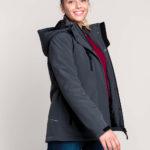 Parka softshell doublée Femme | Broderie - Marquage textile