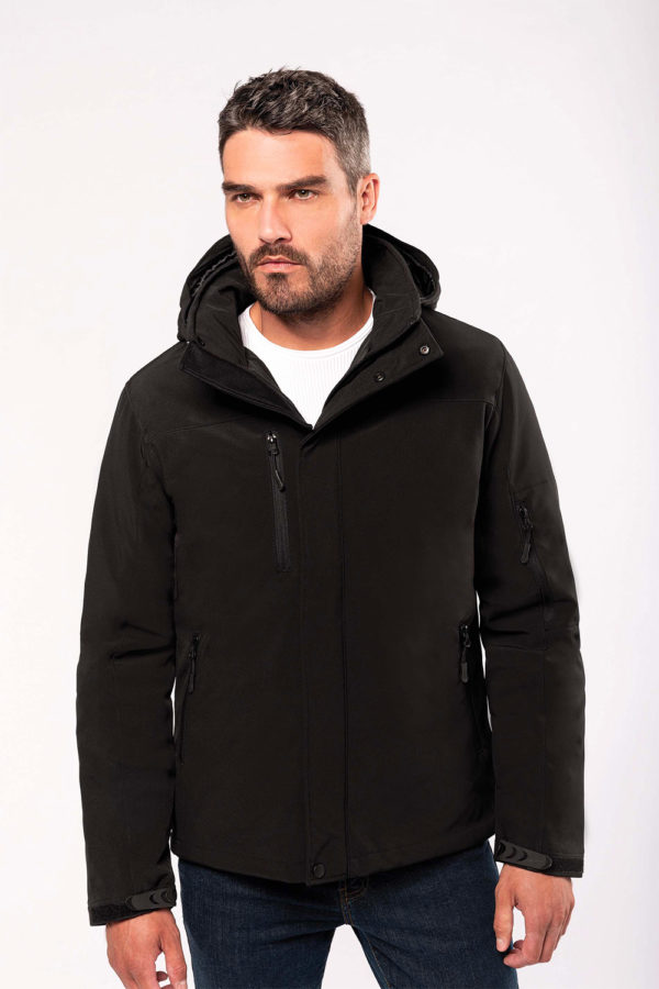 Parka softshell doublée Homme | Broderie - Marquage textile