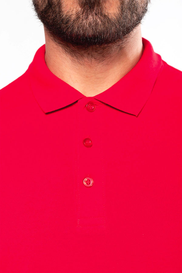 Polo Homme manches longues - Broderie - Marquage textile