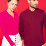 Polo manches longues - Broderie - Marquage textile