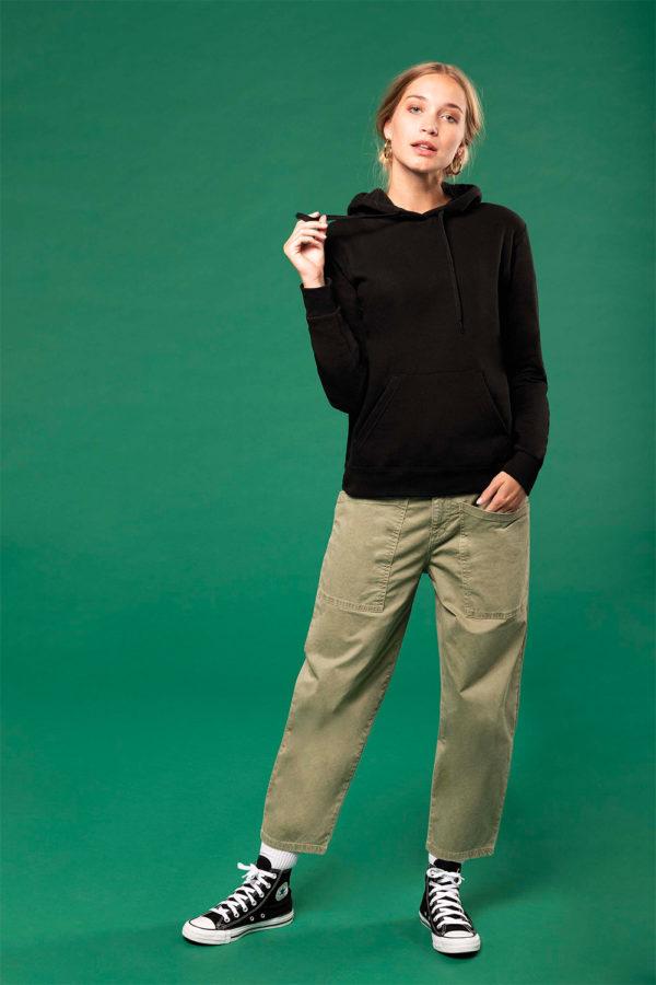 Sweat-shirt capuche femme | Broderie - Marquage textile