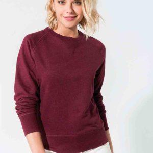 Sweat-shirt Femme manches raglan - Broderie - Marquage textile