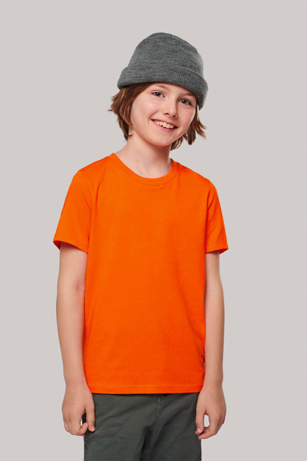 T-Shirt Enfant col rond - Broderie - Marquage textile