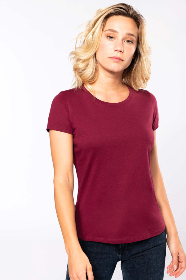 T-Shirt Femme col rond - Broderie - Marquage textile