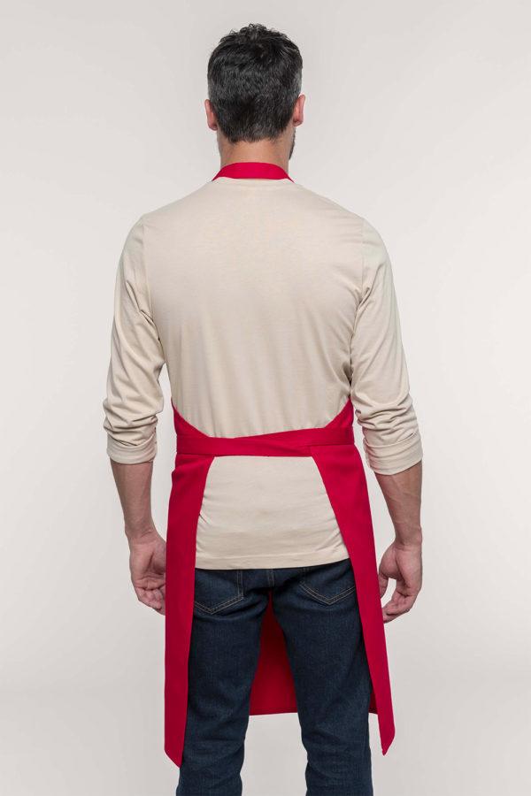 Tablier coton avec poche   Broderie - Marquage textile