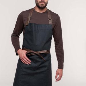 Tablier coton vintage | Broderie - Marquage textile
