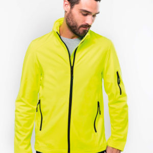 Veste softshell Homme | Broderie - Marquage textile